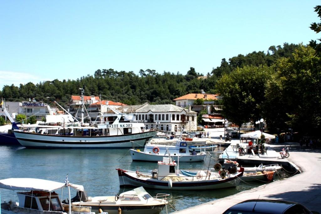 Лименас Тасос старото пристанище