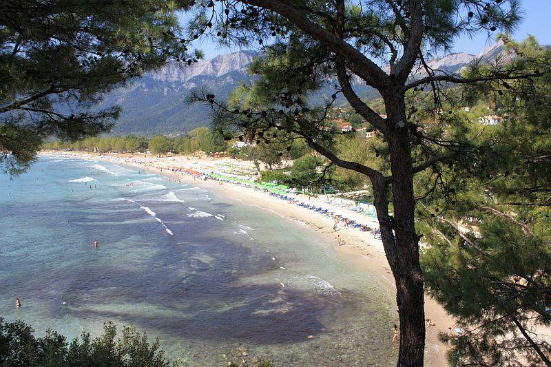 Плажа Златни Пясъци Тасос