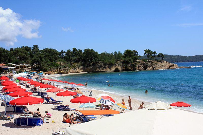 Плажа Пефкари  Тасос